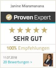 ProvenExpert-Bewertungssiegel